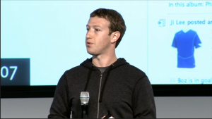 Facebook - press conference - Marck Zuckerberg