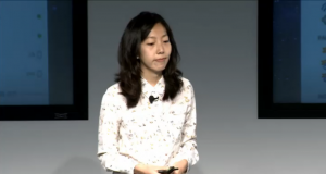 Facebook press conference Julie Zhuo