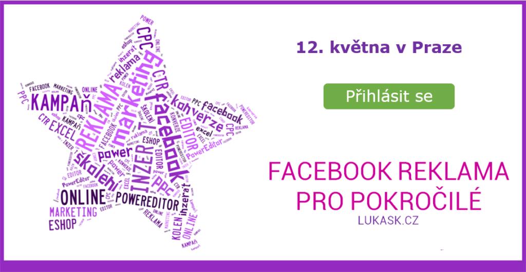 školení fb reklamy 12.května